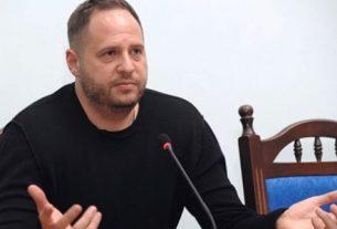 Глава офиса президента Украины Андрей Ермак.