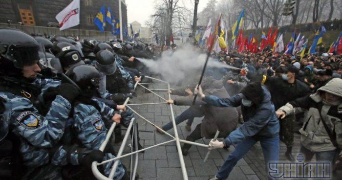 Евромайдан в 2014 году.