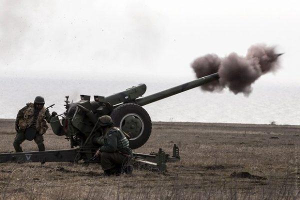 Донбасс, обстрелы продолжаются.