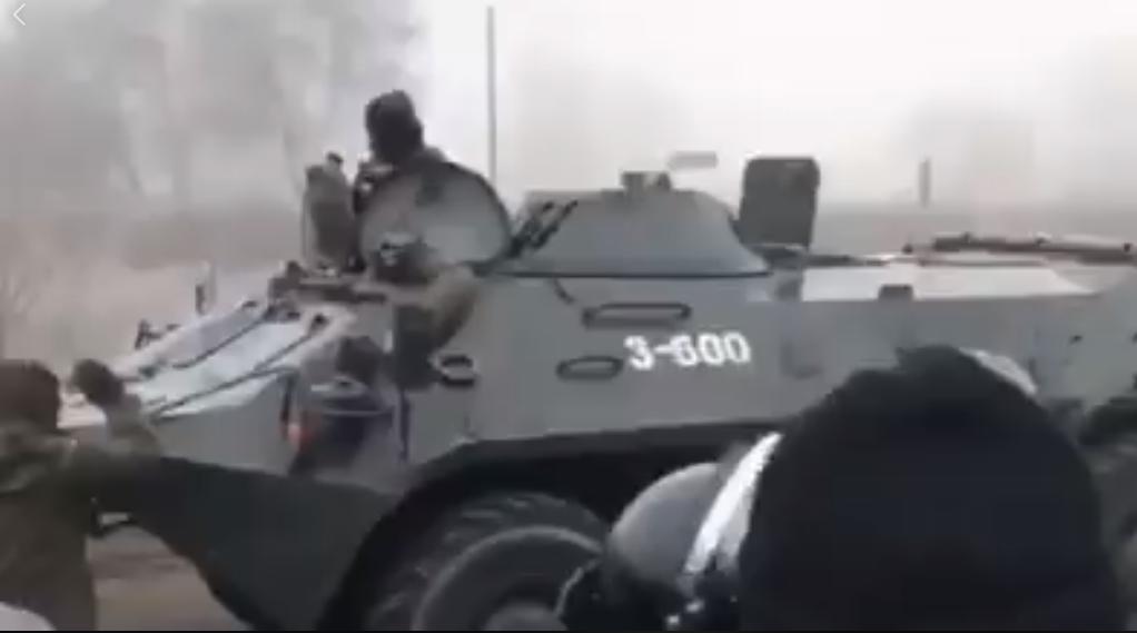 Военная техника в Новых Санжарах