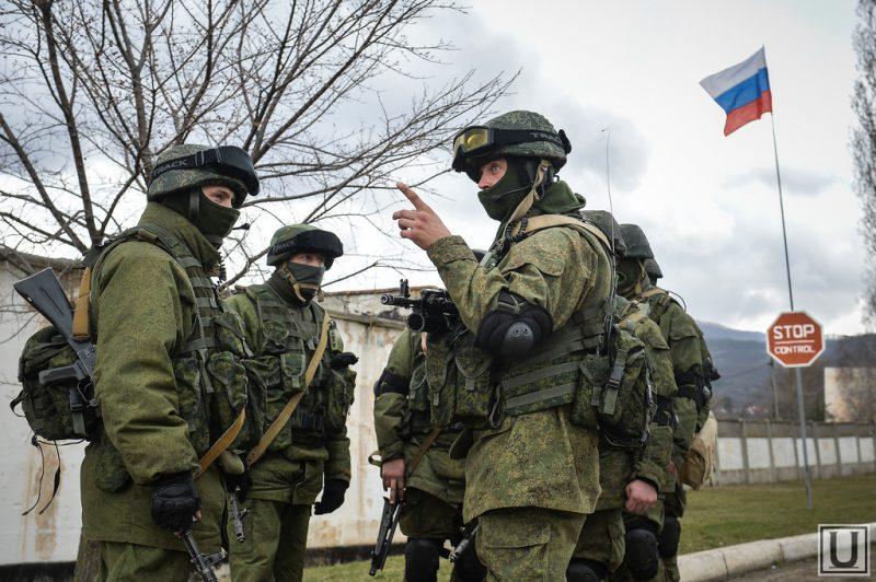 войска РФ на Донбассе
