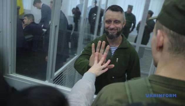 Суд на неделю перенес рассмотрение апелляции на арест Антоненко
