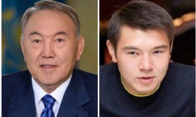 Нурсултан Назарбаев и его внук Айсултан