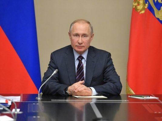 Президент России Владимир Путин.р