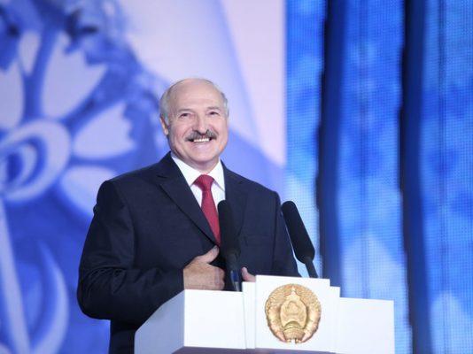 Александр Григорьевич Лукашенко.