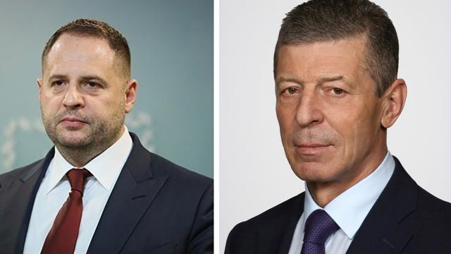 Андрей Ермак и Дмитрий Козак