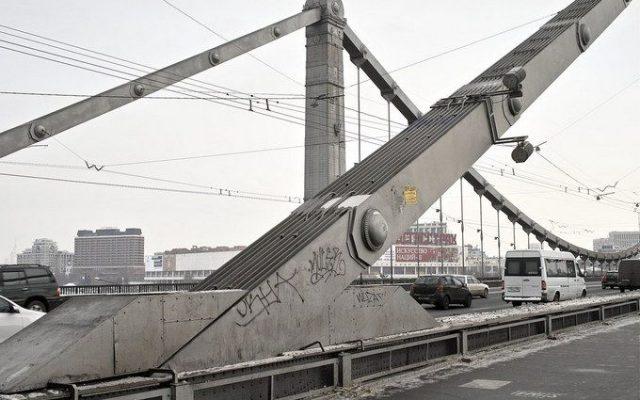 Незаконный Крымский мост.