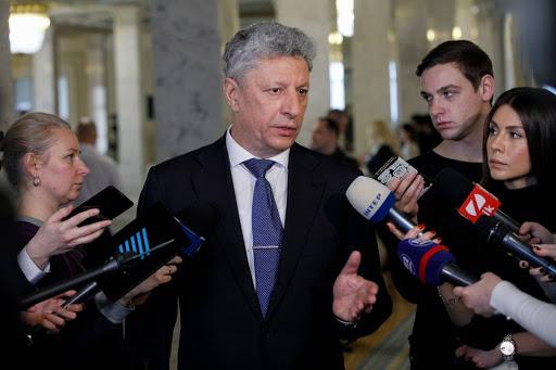 Народный депутат Юрий Бойко.