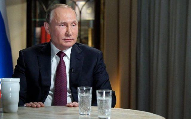 Владимир Путин просит снять санкции.