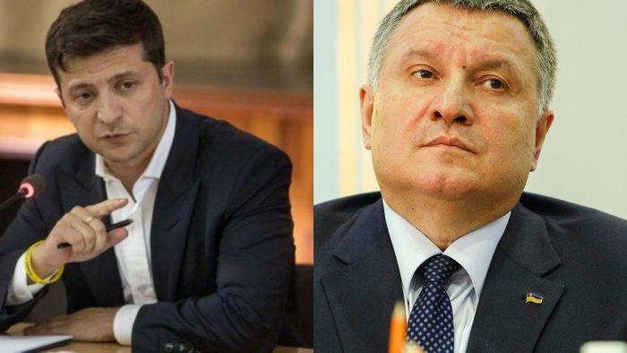 Владимир Зеленский и Арсен Аваков.