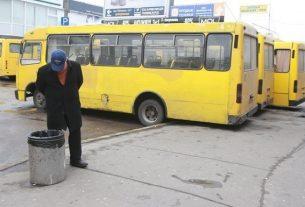 Транспортные перевозки в Украине остановлены.