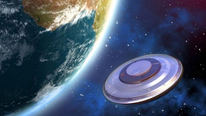 В космосе зафиксировано скопление НЛО.