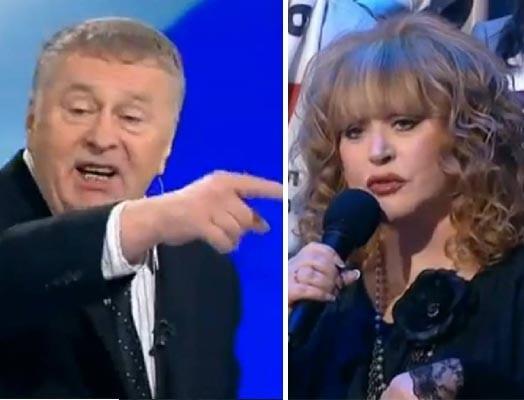 Жириновский оскорбил Пугачеву.