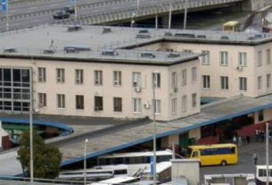 Центральный автовокзал Киева.
