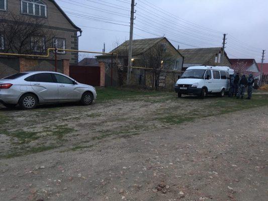 Обыски у крымских татар