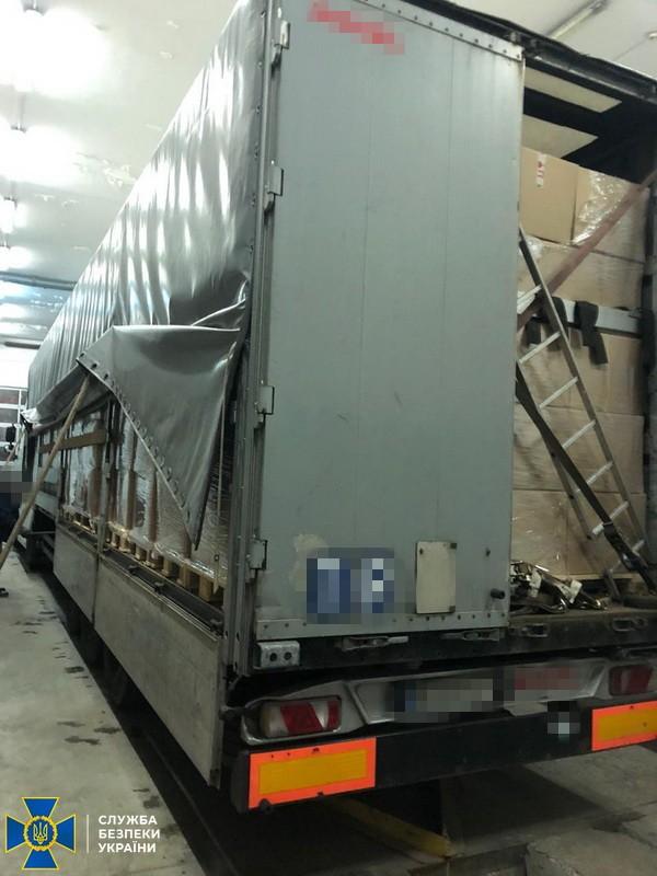 СБУ предотвратила незаконный вывоз за границу 40 тысяч медхалатов