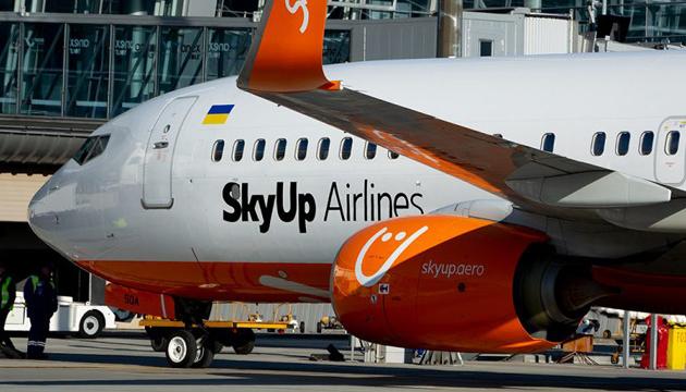 Отмененный спецрейс SkyUp вылетит из Варшавы в Киев в воскресенье вечером