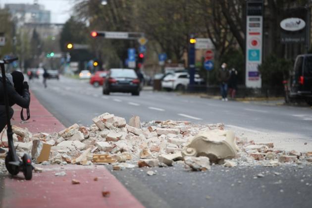 Землетрясение в Загребе не причинило вреда украинцам - посол