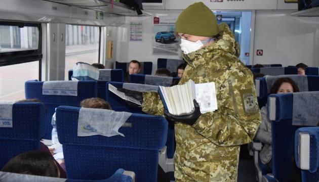 За сутки в Украину въехали почти 11 тысяч человек, у одного обнаружили коронавирус