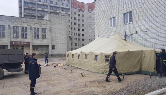 В Украине заработали временные пункты скрининга