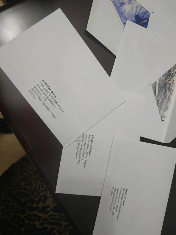Сущенко попросил Денисову передать политзаключенным открытки от студентов