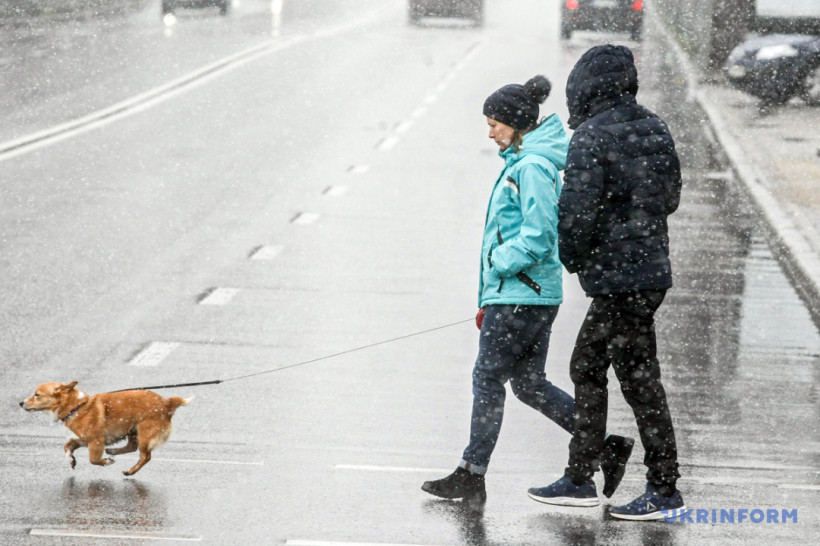 Охотники за вирусами, сессия на парковке и мартовский снегопад