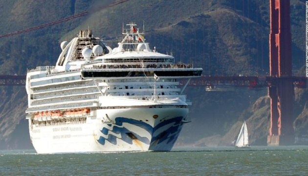 В украинцев на борту Grand Princess не обнаружили коронавирус - МИД