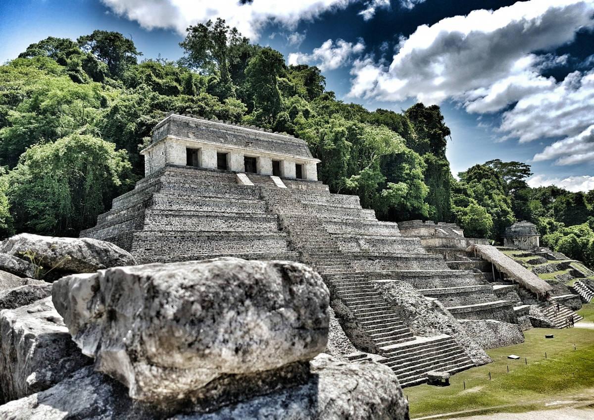 пирамида майя