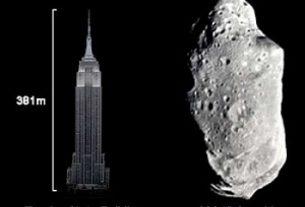 Астероид Апофис и Эмпайр-Стейт-Билдинг