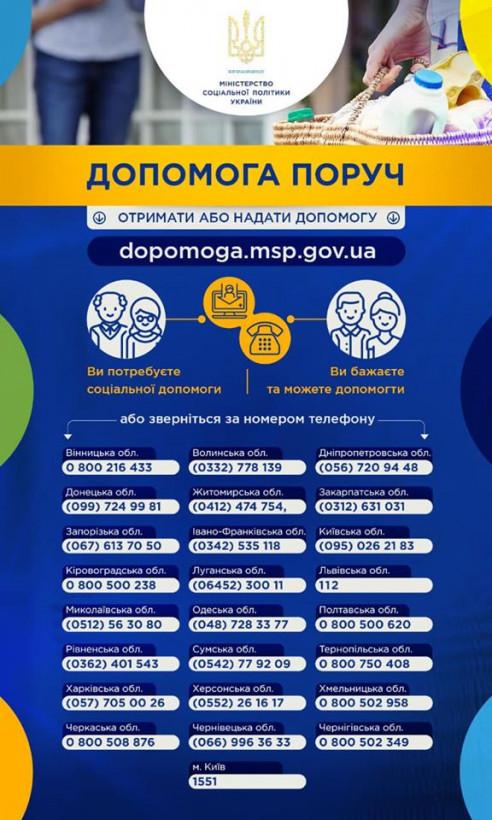 В Украине запустили социальный сервис для помощи во время карантина