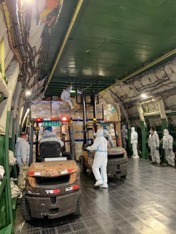 """""""Мрия"""" перевезла из Китая в Польшу рекордный груз медсредств"""