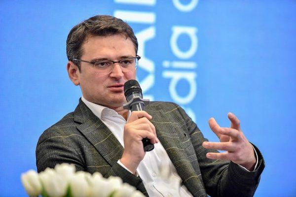 Министр иностранных дел Дмитрий Кулеба.