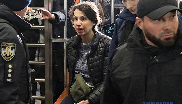 Чорновол отправили под круглосуточный домашний арест