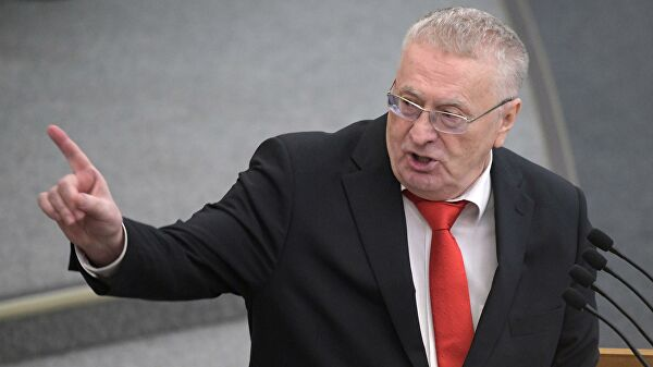 Жириновский обвиняет Лукашенко.
