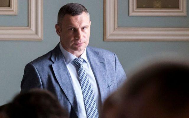 Мэр Киева Виталий Кличко.