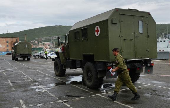 Войска РФ в Чечне.