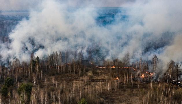 У Авакова изучают опыт Беларуси по противопожарным мероприятиям в лесах