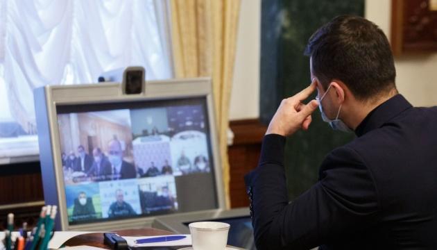 Зеленский провел совещание по безопасности украинцев во время Пасхальных праздников