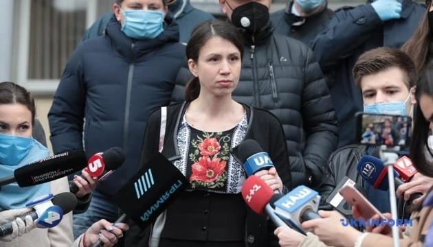 Чорновол отказалась давать показания на допросе в ГБР