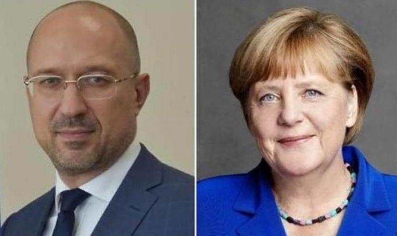 Шмыгаль и Меркель