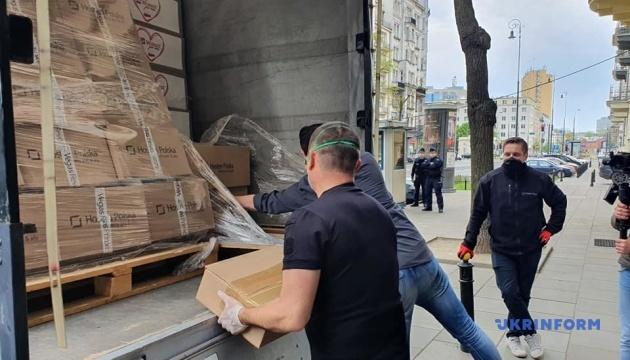 Польская компания передала Украине более 100 тысяч масок