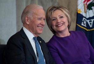 Клинтон и Байден