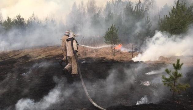 Власти Житомирщины уже подсчитывают убытки жителей от пожаров - ОП
