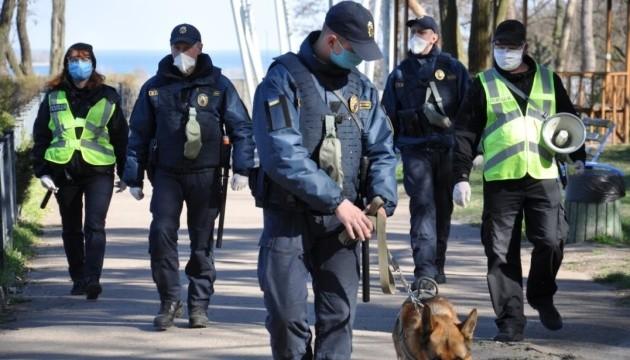 В первый день усиленного карантина полиция поймала 192 нарушителей