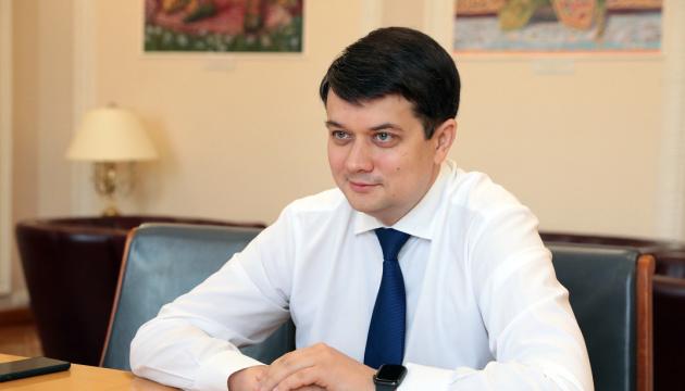 Оценку руководству Минздрава можно будет давать, когда Украина справится с COVID-19 – Разумков