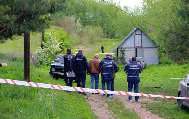 Место расстрела 7 человек.