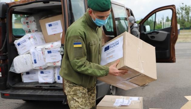 Евросоюз передал украинским пограничникам средства защиты на почти миллион гривен