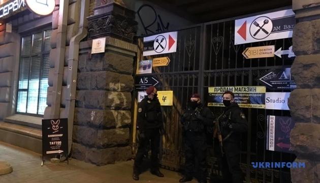 Крищенко: Полиция пересмотрит камеры наблюдения в офисе Давыденко