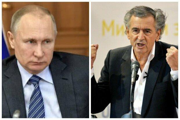 Бернар-Анри Леви и Владимир Путин
