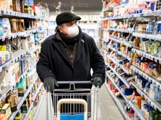 В Сумах вспышка COVID-19, в супермаркете.